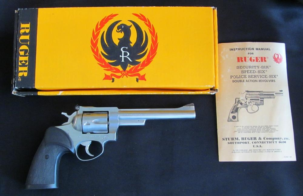 Sturn-Roger .357 Cal. Security Six Revolver