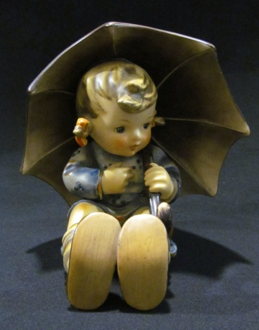 Hummel Figurine - Large Girl with Umbrella