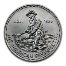1 oz Silver Round - Engelhard Prospector (1985, Eagle Reverse) #21659v3