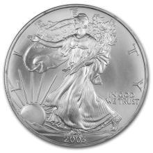 2003 1 oz Silver American Eagle BU #21400v3