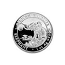 2016 Somalia 1 oz Silver Elephant BU #71628v2