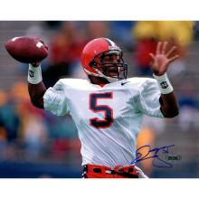 Donovan McNabb Syracuse Horizontal Passing Close Up 8x10 Photo #49428v2