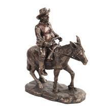 Sancho Panza Cold Cast Bronze Statue #71263v2