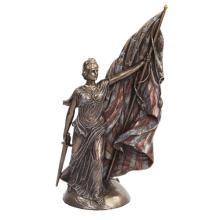 Columbia Calls Cold Cast Bronze Statue #71258v2