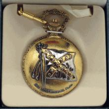 Collectible Civil War Style Pocket Watch #13260v2