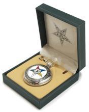 Masonic Eastern Star Pocket Watch #13255v2