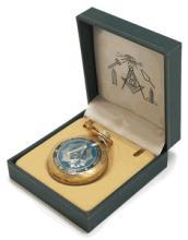 Masonic Blue Pocket Watch #13256v2