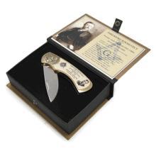 Masonic Teddy Roosevelt Knife #13228v2