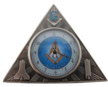 Mini Masonic Deck Clock #13226v2