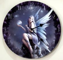Anne Stokes Stargazer Clock  13 inch diameter  Requires #48402v2