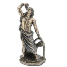 Dionysus Cold Cast Bronze Statue #71278v2