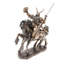 Odin Cold Cast Bronze Statue #71276v2