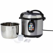 Precise Heat 6.3qt (6L) Electric Pressure Cooker #49334v2
