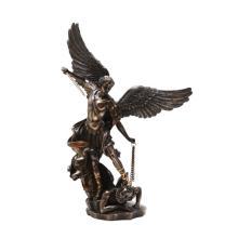 St. Michael Cold Cast Bronze Statue #71271v2