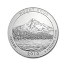 2010 5 oz Silver ATB - Mount Hood National Park, Oregon #59338v1