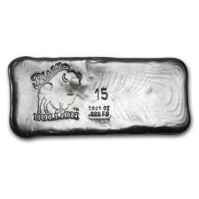 15 oz Silver Bar - Bison Bullion #21911v3