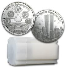 1 oz Silver Round - Remember! Twin Towers 9/11/2001 #21663v3