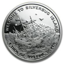 1 oz Silver Round - Finding Silverbug Island (Prooflike) #21669v3