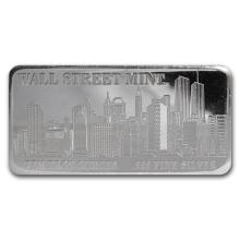 10 oz Silver Bar - Wall Street Mint (Type 1) #21913v3