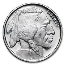 1/10 oz Silver Round - Buffalo #21607v3