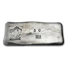 50 oz Silver Bar - Bison Bullion #21905v3