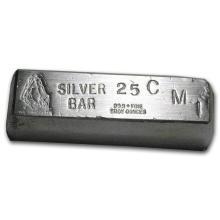 25 oz Silver Bar - CMI #21953v3
