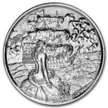 2 oz Silver Round - The Siren #21662v3