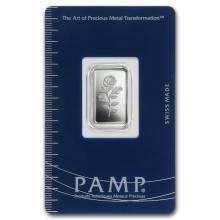 2.5 gram Silver Bar - PAMP Suisse (Rosa) #21781v3
