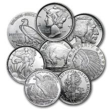 1/10 oz Silver Round - Secondary Market #21616v3