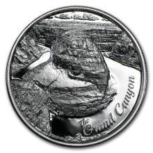 2 oz Silver Round - Grand Canyon #21657v3