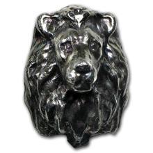 3 oz Silver - MK Barz & Bullion (3D Lion) #21924v3