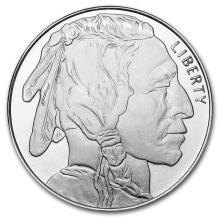 1 oz Silver Round - Buffalo #21597v3