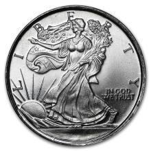 1/10 oz Silver Round - Walking Liberty #21604v3