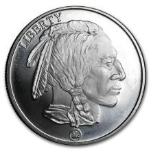 1 oz Silver Round - Buffalo (RMC) #21599v3