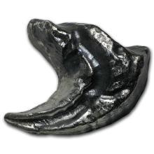 4 oz Silver - MK Barz & Bullion (3D Dinosaur Tooth) #21918v3