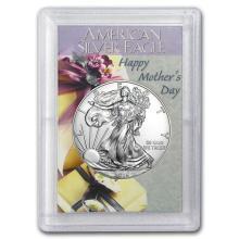 2016 1 oz Silver American Eagle BU (Mother's Day, Harris Holder) #22043v3