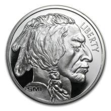 1 oz Silver Round - Buffalo (V2) #21605v3