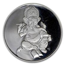 1 oz Silver Round - Ganesha #21615v3