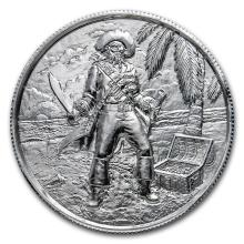 2 oz Silver Round - The Captain #21631v3