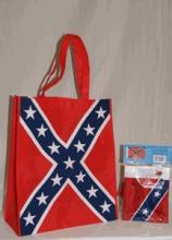 CONFEDERATE SHOPPING BAG W/FLAG #39740v2
