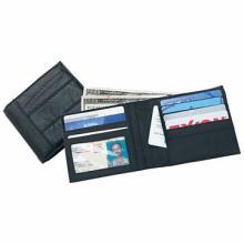 Embassy Men's Solid Genuine Leather Bi-Fold Wallet #48652v2