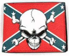 CONFEDERATE LEATHER WALLET #49790v2