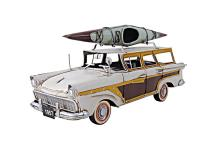 HAND MADE FORDS WOODY-LOOK COUNTRY SQUIRE W/KAYAK #45493v2