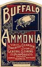 Buffalo Ammonia Label #46933v2