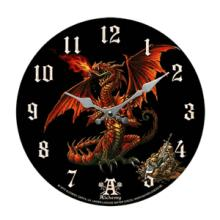 GOTHIC DRAGON WALL CLOCK #70921v2
