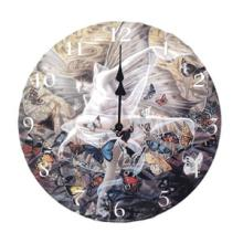 Butterfly Round Wall Clock #71638v2
