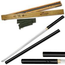 HAND FORGED RYUMON SAMURAI SWORD W/ CARBON STEEL BLADE #20144v2