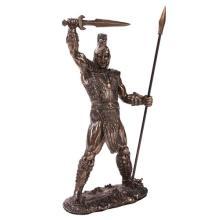 Achilles Cold Cast Bronze Statue #71284v2