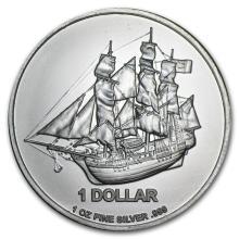 2014 Cook Islands 1 oz. Silver Bounty Coin #42961v2