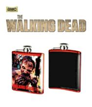 The Walking Dead Zombie Eating Arm Flask #75839v2